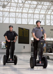 Two Officers in airport